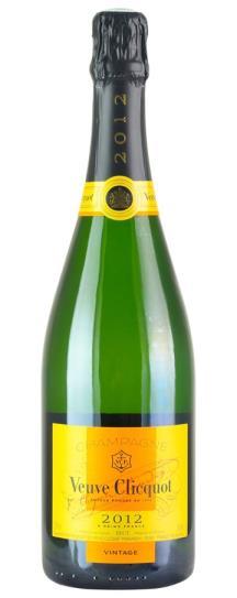2012 Veuve Clicquot Vintage Brut