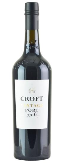 2016 Croft Vintage Port