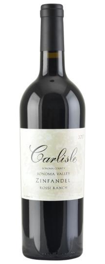 2017 Carlisle Winery Zinfandel Rossi Ranch