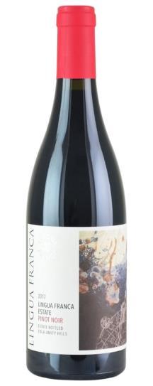 2017 Lingua Franca Estate Eola-Amity Hills Pinot Noir