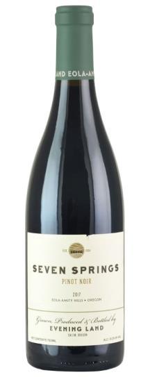 2017 The Evening Land Vineyards Seven Springs Vineyard Pinot Noir