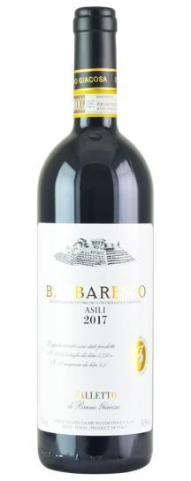 2017 Bruno Giacosa Barbaresco Asili