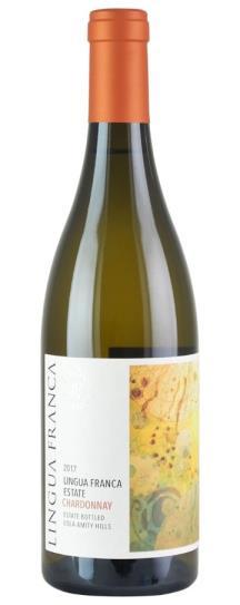 2017 Lingua Franca Estate Eola Amity Hills Chardonnay