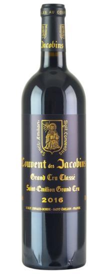 2016 Couvent des Jacobins Bordeaux Blend