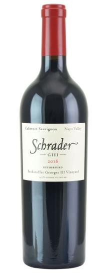 2016 Schrader Cellars Cabernet Sauvignon Beckstoffer George III