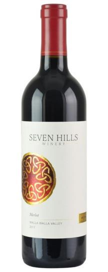 2017 Seven Hills Winery Merlot