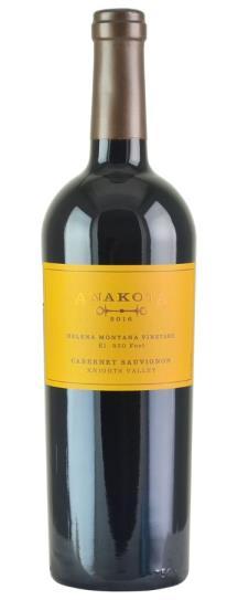 2016 Anakota Cabernet Sauvignon Helena Montana Vineyard