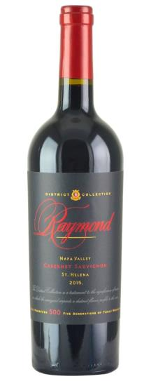 2015 Raymond St Helena District Collection Cabernet Sauvignon