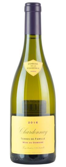 2016 Domaine de la Vougeraie Bourgogne Blanc Terres de Famille