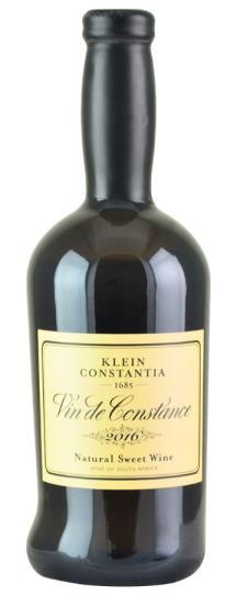 2016 Klein Constantia Vin de Constance Natural Sweet Wine