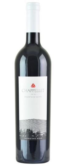 2018 Chappellet Mountain Cuvee