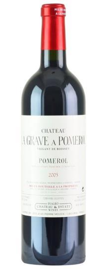 2005 La Grave a Pomerol Bordeaux Blend
