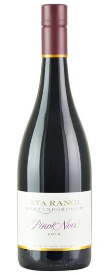 2016 Ata Rangi Pinot Noir