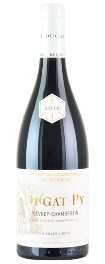 2016 Domaine Dugat-Py Gevrey Chambertin Vieilles Vignes