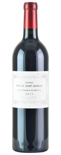2015 Moulin St Georges Bordeaux Blend