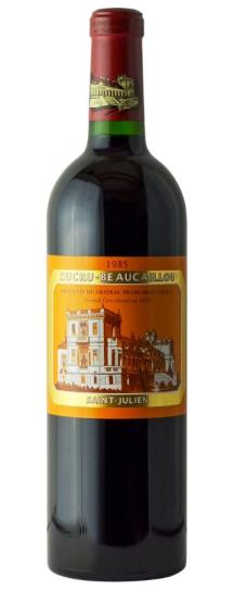 1986 Ducru Beaucaillou 2020 Ex-Chateau, Recorked 2011