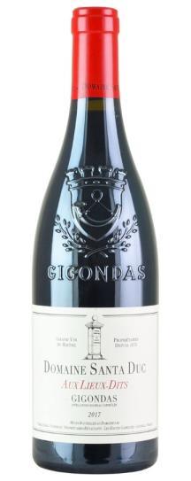 2017 Domaine Santa Duc Gigondas Aux Lieux-Dits