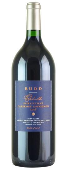 2016 Rudd Vineyards & Winery Samantha's Cabernet Sauvignon