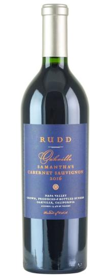 2016 Rudd Vineyards & Winery Samantha's Cabernet Sauvignon