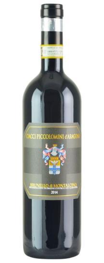 2014 Ciacci Piccolomini d'Aragona Brunello di Montalcino