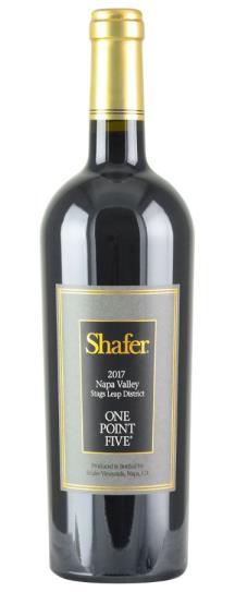 2017 Shafer Vineyards Cabernet Sauvignon One Point Five