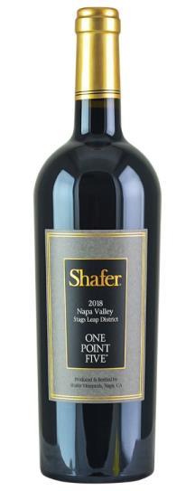 2018 Shafer Vineyards Cabernet Sauvignon One Point Five
