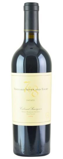 2014 Vineyard 7 & 8 Estate Cabernet Sauvignon