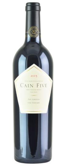 2015 Cain Cellars Cain Five