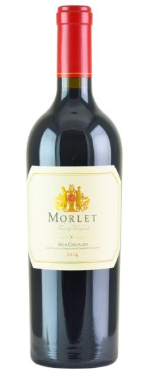 2014 Morlet Family Vineyards Cabernet Sauvignon Mon Chevalier