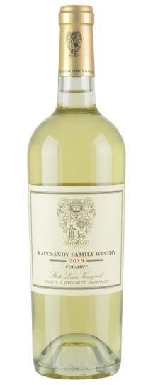 2019 Kapcsandy Family Winery Furmint State Lane Vineyard