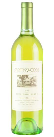 2018 Spottswoode Sauvignon Blanc
