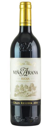 2014 La Rioja Alta Vina Arana Reserva