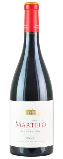2014 La Rioja Alta Finca Martelo