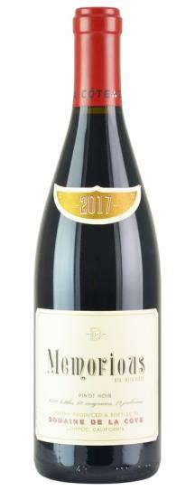 2017 Domaine de la Cote Memorious Pinot Noir