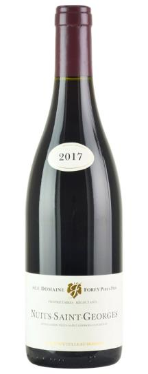 2017 Domaine Forey Pere et Fils Nuits St Georges