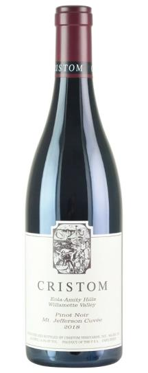 2018 Cristom Mt Jefferson Cuvee Pinot Noir