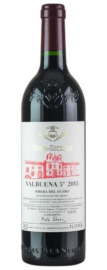 2015 Vega Sicilia Valbuena 5 Year Old Tinto