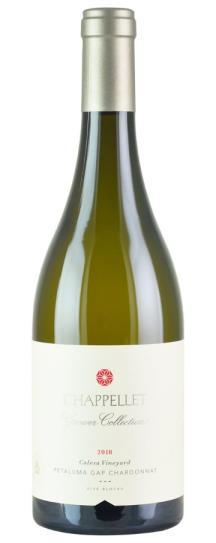 2018 Chappellet Chardonnay Growers Collection Calesa Vineyard Petaluma