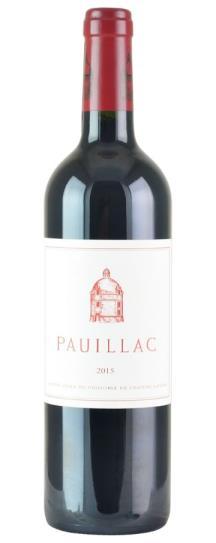 2015 Pauillac de Chateau Latour Bordeaux Blend
