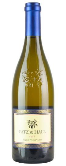 2016 Patz and Hall Chardonnay Hyde Vineyard
