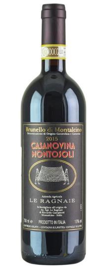 2015 Le Ragnaie Brunello di Montalcino Casanovina Montosoli