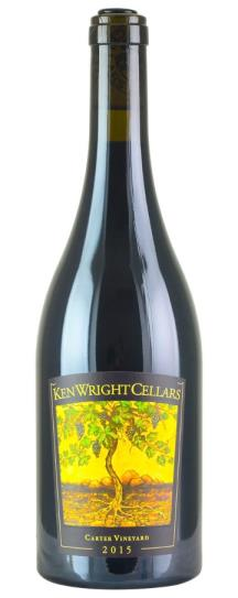 2015 Ken Wright Cellars Pinot Noir Carter Vineyard