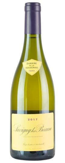 2017 Domaine de la Vougeraie Savigny Beaune Blanc