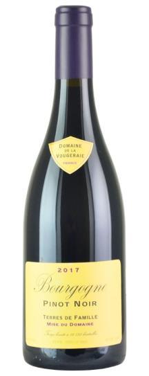 2017 Domaine de la Vougeraie Bourgogne Rouge Terres de Famille