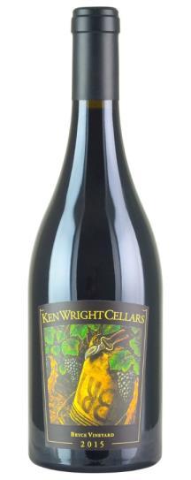 2015 Ken Wright Cellars Pinot Noir Bryce Vineyard