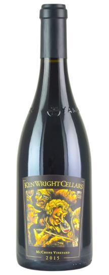 2015 Ken Wright Cellars Pinot Noir Mccrone Vineyard