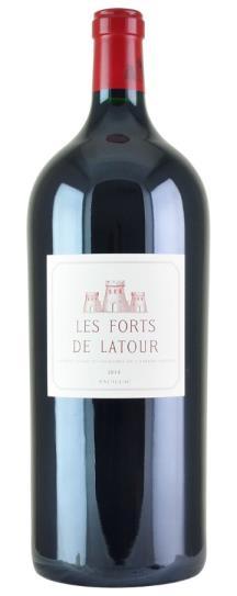 2014 Les Forts de Latour Bordeaux Blend