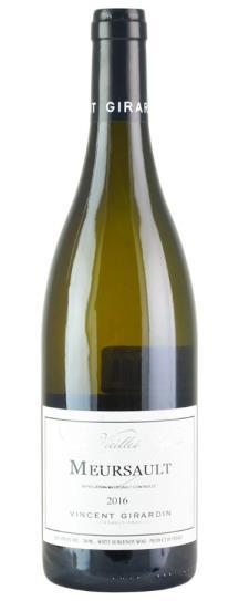 2016 Vincent Girardin Meursault Vieilles Vignes