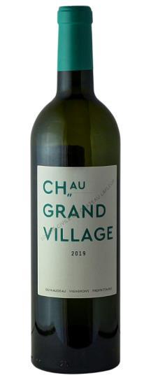 2019 Chateau Grand Village Blanc
