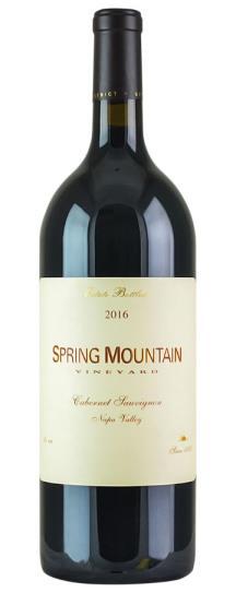2016 Spring Mountain Vineyard Cabernet Sauvignon